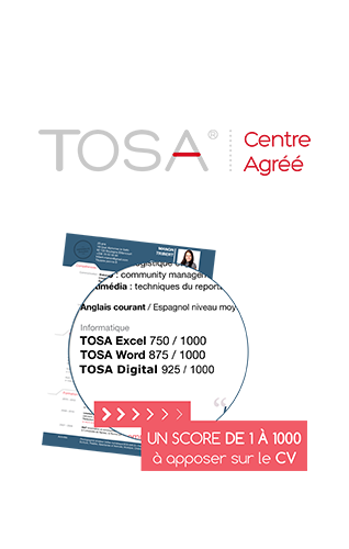 Certification Tosa Digcomp Photoshop Greta de l'Aude Narbonne